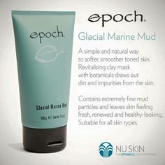 A must have for your weekly beauty treat. Marine Mud Mask, Glacial Marine Mud, Best Masks, Beauty Treats, Clay Masks, Mud Masks, Epoch, Beauty Bar, Beauty Essentials