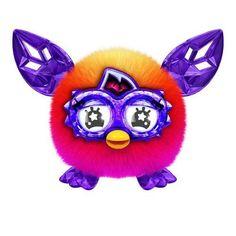 Furby Furblings Crystal Series Orange to Pink
