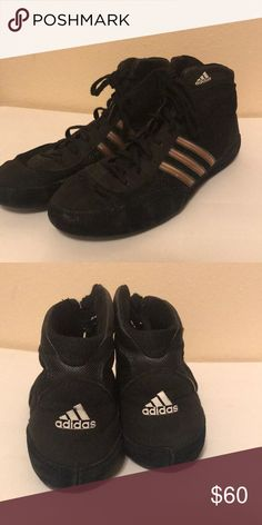 73edec5d7bac4 Adidas Wrestling Shoes Almost in perfect condition ! Only worn once great  overall shoe for wrestling