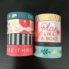 """18""""/24"""" SAMPLES of Recollections floral 2 washi tape (M118) by WashiFul on Etsy https://www.etsy.com/listing/474922138/1824-samples-of-recollections-floral-2"""