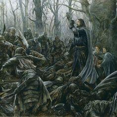 Not sure who drew it. Looks like Nasmith. But Boromir. :(