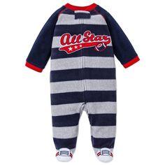 40f14ee80d Amazon.com  Little Me Baby Boy or Baby Girl Warm Footed Fleece Blanket  Sleeper
