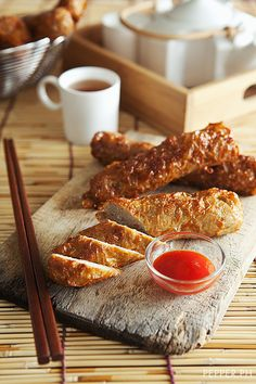 Homemade Kikiam - Deep Fried Vegetable Pork Sticks - Pepper PH
