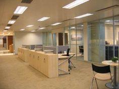 LED Lighting in Office