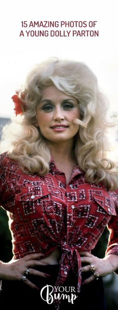 15 Amazing Photos of a Young Dolly Parton