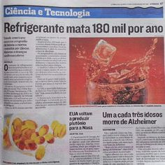 O Perigo dos Refrigerantes e Sucos