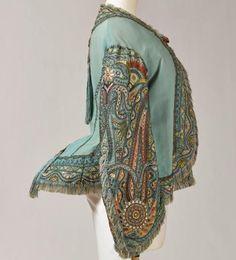 """Expo """"Folie Textile"""" : « Visite » de la princesse Mathilde. 1869"""