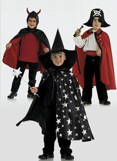 Schnittmuster Zauberer, Pirat und Teufel, Burda 2494
