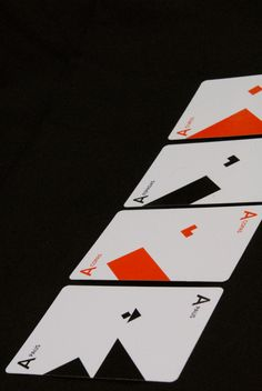 Playing Cards by Sofia Sterzi, via Behance
