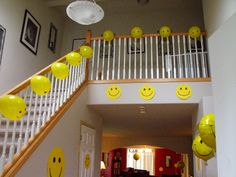 Clever, Crafty, Cookin' Mama: Happy Face Birthday Party..including ideas for games.