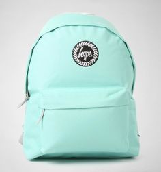 Hype Plain Backpack Mint