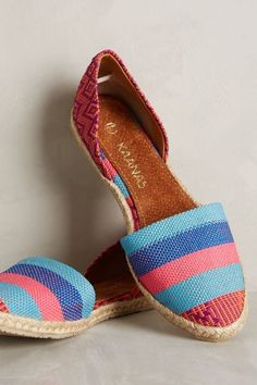 Kaanas Fiji Espadrilles - anthropologie.com #anthrofave