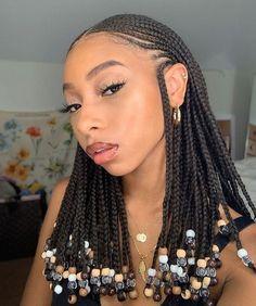 Black Girl Braids, Braids For Black Hair, Girls Braids, Black Women Braids, Black Girl Braid Styles, Short Hair Styles, Braided Hairstyles For Black Women Cornrows, Bandana Hairstyles, Hairstyle Ideas