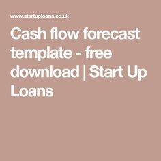 Annual cash flow forecast 5 years google search cash flow cash flow forecast template free download start up loans friedricerecipe Images