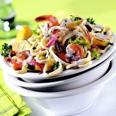Summertime Pasta Recipe   Looks good... lots of ingredients I don't use but would be willing to try