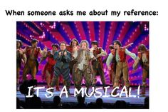 """If you know the musical """"Something Rotten"""" you'll understand this reference. It is my favorite song from that musical! Theatre Nerds, Music Theater, Broadway Theatre, Broadway Shows, Hamilton, Theatre Problems, Dear Evan Hansen, Les Miserables, Story Of My Life"""