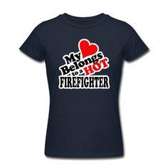 My Heart Belongs to a HOT Firefighter
