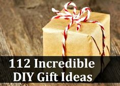 112 Incredible DIY Gift Ideas (with tutorials)
