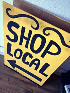 Shop Local at least once, if you can - it's a whole new experience!
