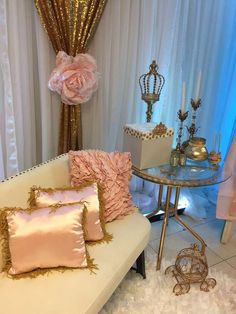 Princess Baby Shower Baby Shower Party Ideas | Photo 1 of 39