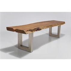 Nature Line bench | Robin Classic | houten bank met metalen poten