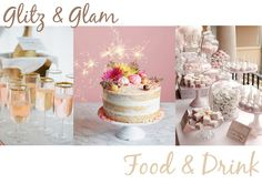 Eleven Oh Seven. Summer Celebrations - Birthday Party: Glitz & Glam, Food & Drink