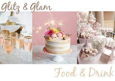 Eleven Oh Seven. Summer Celebrations - Birthday Party: Glitz & Glam, Food & Drink