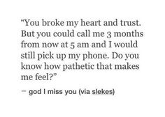 quote, heart, and heartbreak image