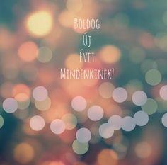 Boldog Új Évet / Happy New Year