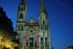 """Chartres Cathedral, also known as """"the Acropolis of France"""" by the artist Rodin, is the landmark of this religious city with it's medieval alleyways & lanes."""
