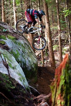 Nice drop off the rock