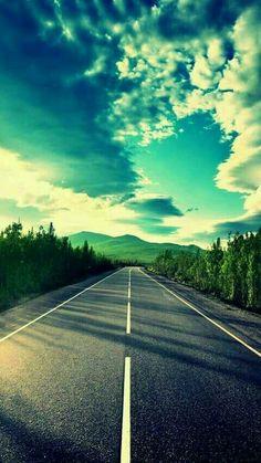 Highway To Heaven Go Running