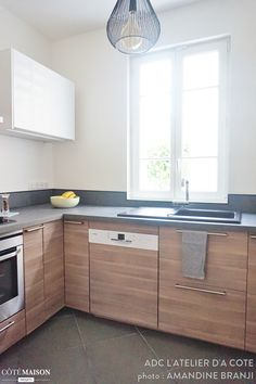 idée deco cuisine en longueur | Pinterest | Kitchen reno, Kitchens ...