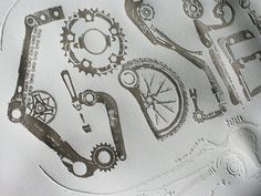Type from Bicycle Parts