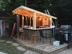 10 Best Outdoor Bar At Backyard Ideas 6