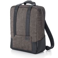 This eco friendly designer laptop backpack from the Lexon hobo collection  is a… e0b3238490f6a