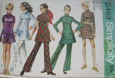 SALESimplicity Oh So MOD Pattern for Ladies Mini by cambridgest, $6.00