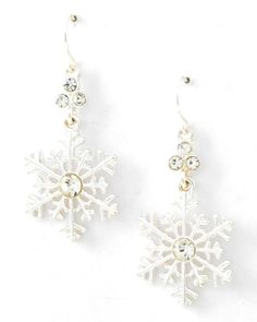 Checkout our #awesome product Christmas Theme - Snowflake Dangle with Fish Hook Earring Set / Silver Tone / Azerfh144-sil-chr - Christmas Theme - Snowflake Dangle with Fish Hook Earring Set / Silver Tone / Azerfh144-sil-chr - Price: $55.00. Buy now at http://www.arrascreations.com/christmas-theme-snowflake-dangle-with-fish-hook-earring-set-silver-tone-azerfh144-sil-chr.html