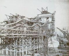 Lánchíd újjáépítése / Reconstruction of the Chain Bridge Budapest, Hungary, Bridge, Louvre, Tower, Building, Travel, Rook, Viajes