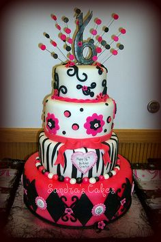 I love this cake! Can someone please get it for me for my birthday?! lol