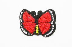 1 stk   sommerfugl tøymerke