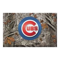 Chicago Cubs MLB Scraper Doormat (19x30)