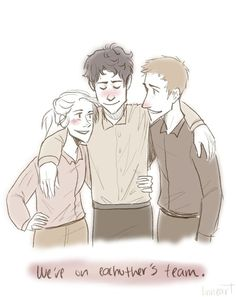 Celaena, Dorian and Chaol <3 The Best Trio