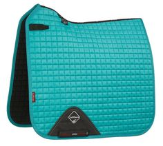 Lemieux ProSport Dressage Square Suede Turquoise - £39.95 : Lemieux, The finest Equestrian products in the UK.