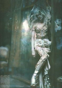 I Dream of a World of Couture.  Paolo Roversi.  Givenchy Haute Couture.