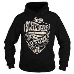 Team SCHERGER Lifetime Member (Dragon) - Last Name, Surname T-Shirt