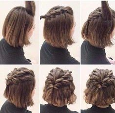 20 Best Short hair Prom Updos images