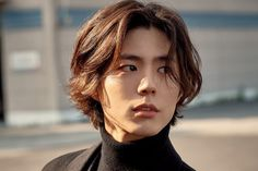 others – star media :: Park Bo Gum :: / page 7 Korean Long Hair, Asian Men Long Hair, Boys With Long Hair, Hair Korean Style, Medium Long Hair, Medium Hair Styles, Short Hair Styles, Park Bogum, Kpop Hair