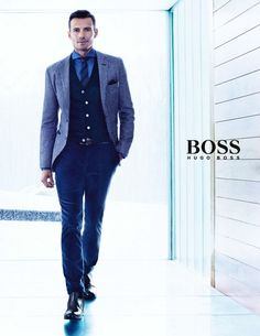 GBI ™: BOSS BY HUGO BOSS FALL/WINTER 2013/14 MENSWEAR CAMPAIGN