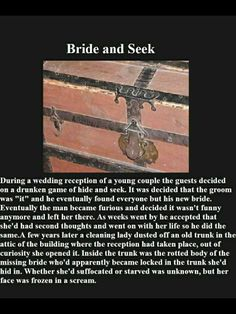 "I read this one a couple years ago. It was know as ""The dead end"" in the line of the poison apple book line. Instead of it being a bride and a groom it was a little girl and her parents, as well as her BIRTHDAY party guests."